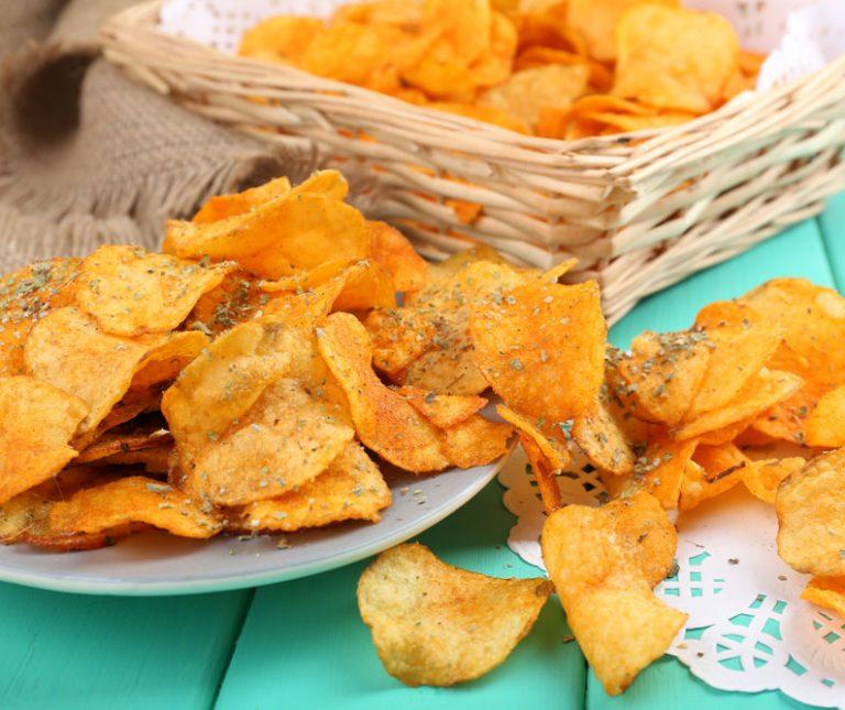 Σπιτικά πατατάκια (τσιπς πατάτας)