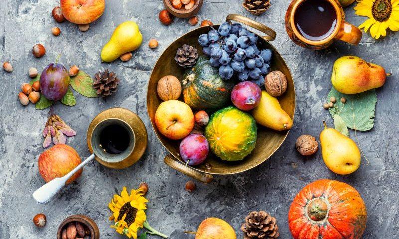 Τα λαχανικά και τα φρούτα του Σεπτεμβρίου