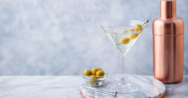 extra dry martini cocktail συνταγη κοκτειλ πως φτιαχνεται dirty martini