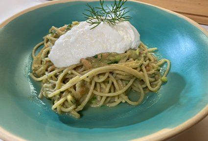 Spaghetti με σολομό και σάλτσα αβοκάντο-featured_image