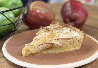 Τάρτα μήλου με κρέμα frangipane του Δημήτρη Μακρυνιώτη-featured_image