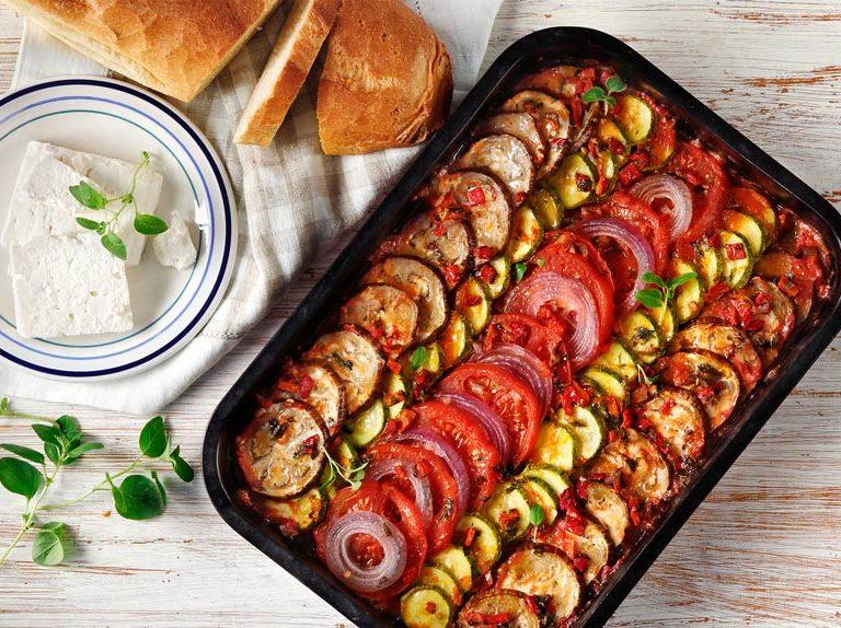 Ρατατούι με λαχανικά της Αργυρώς