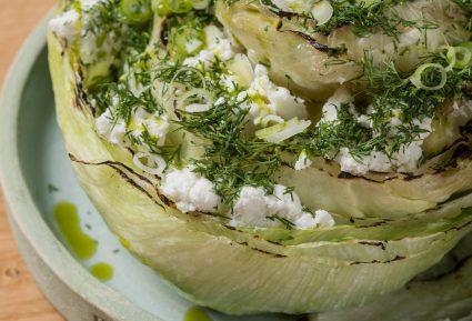 Σαλάτα μαρούλι με άνηθο και φέτα από την Γεωργιάννα Χιλιαδάκη-featured_image