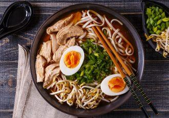 Ramen Σούπα Noodles