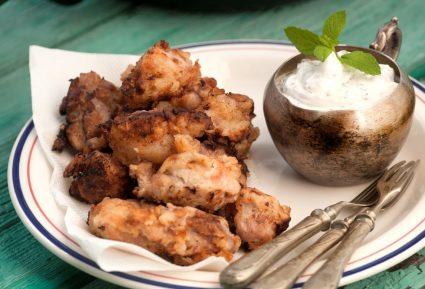 Χοιρινή τηγανιά μαριναρισμένη με σως γιαουρτιού-featured_image