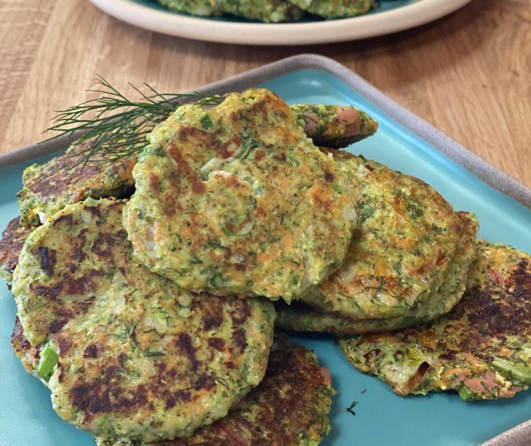 Pancakes λαχανικών