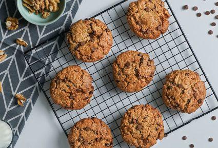 Μπισκότα χωρίς γλουτένη (Chocolate chip cookies)-featured_image