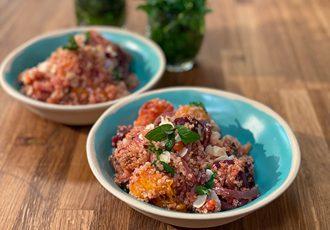 Vegan πιλάφι κινόα με λαχανικά της Αργυρώς-featured_image