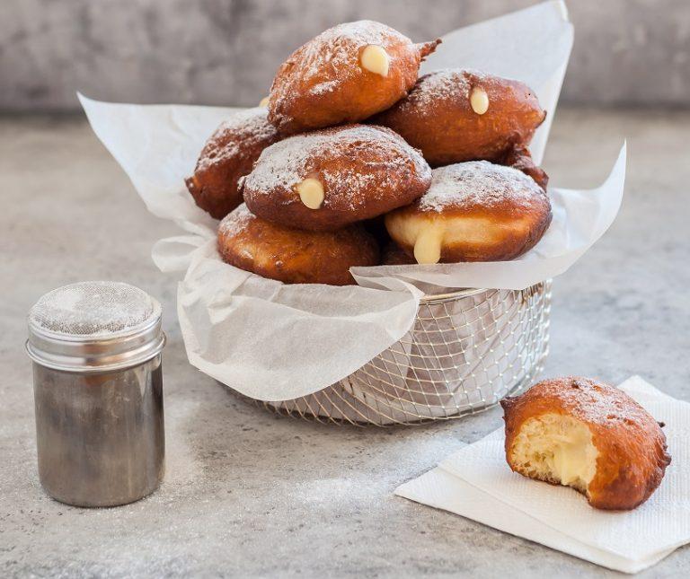 Κρέμα βανίλια για γεμιστά Ντόνατς (Donuts)