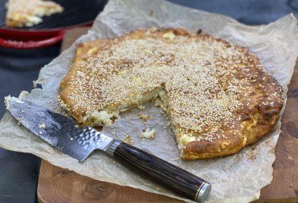 Εύκολη παριανή τυρόπιτα της μαμάς μου-featured_image
