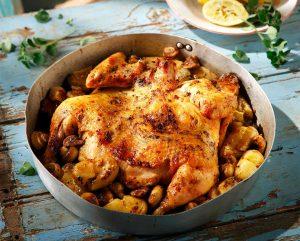 Κοτόπουλο πεταλούδα σε αρωματική μαρινάδα της Αργυρώς-featured_image