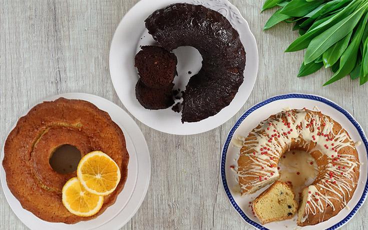 Κέικ: 5 Συνταγές για εύκολα, αφράτα και λαχταριστά κέικ