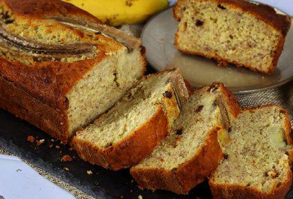 Κεικ μπανανα χωρις ζαχαρη του Γιάννου Βαλιάνου-featured_image